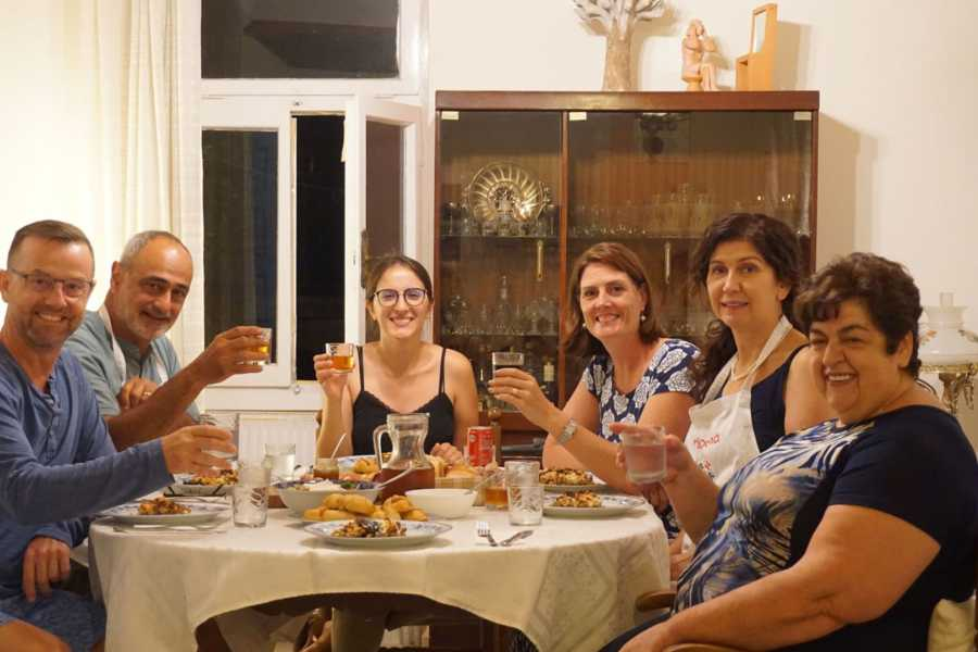 Grekaddict Prepare Traditional Meal in Local's Home in Naxos