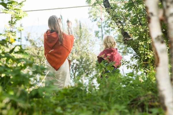 """Magnhild"": Activity for children in Trondenes Middle Ages visitor park"