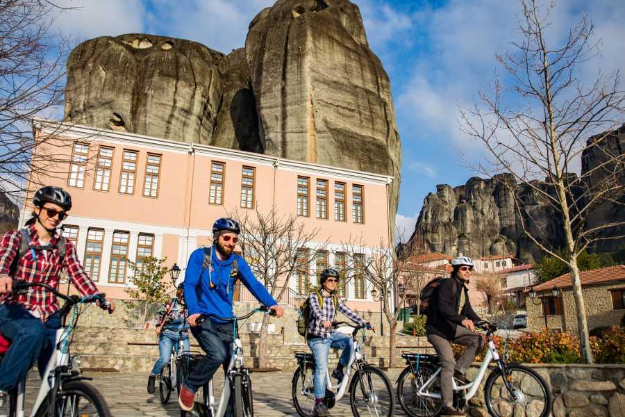 Grekaddict Morning Monastery E-Bike Tour in Meteora
