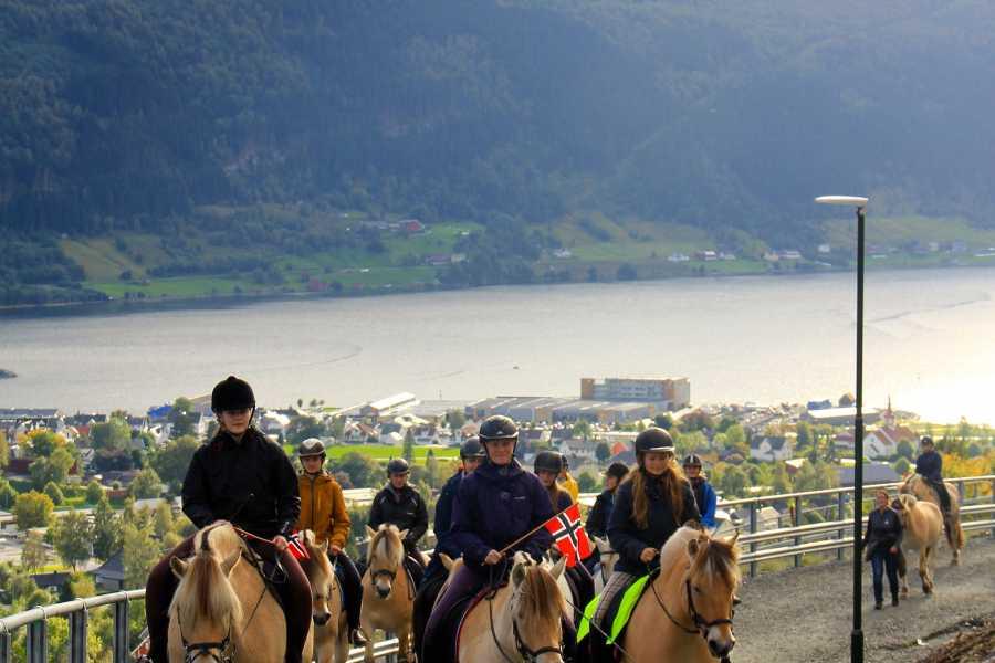 Norsk Fjordhestsenter Panorama Reitausflüge Nordfjordeid