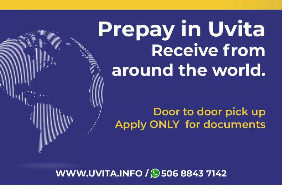 Uvita Information Center shipment by dhl *
