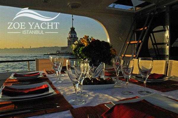 2 hour Bosphorus Lunch Cruise by Private Yacht