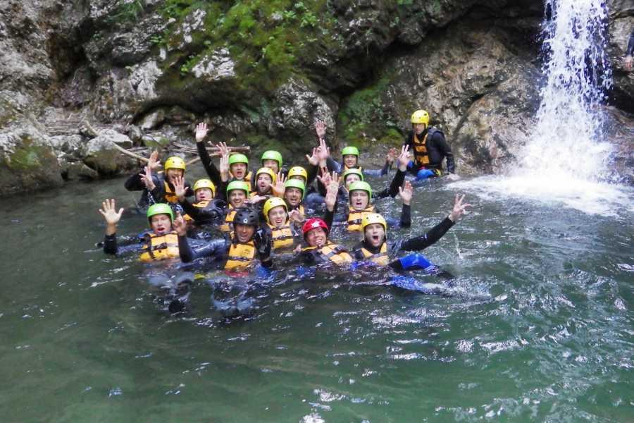 Raftingvilág Kft Kanyoning