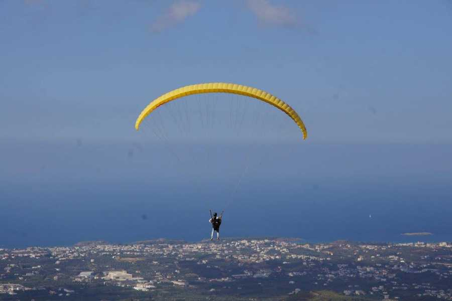 Destination Platanias Paragliding -Tandem -15 Min - 85 Euro