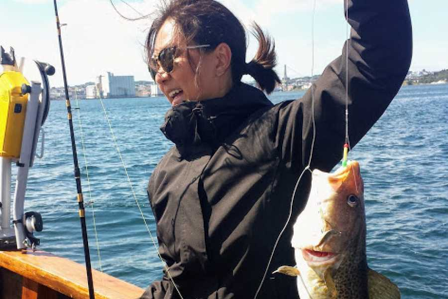 Fishing Stavanger Private charter/MS RAPP  (5 hr Deep Water Fishing Summer Season 02 September (15:00 - 20:00)
