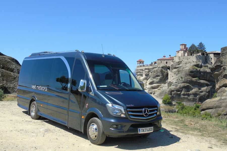 Visit Meteora Delphi to Nafpaktos Private Transfer
