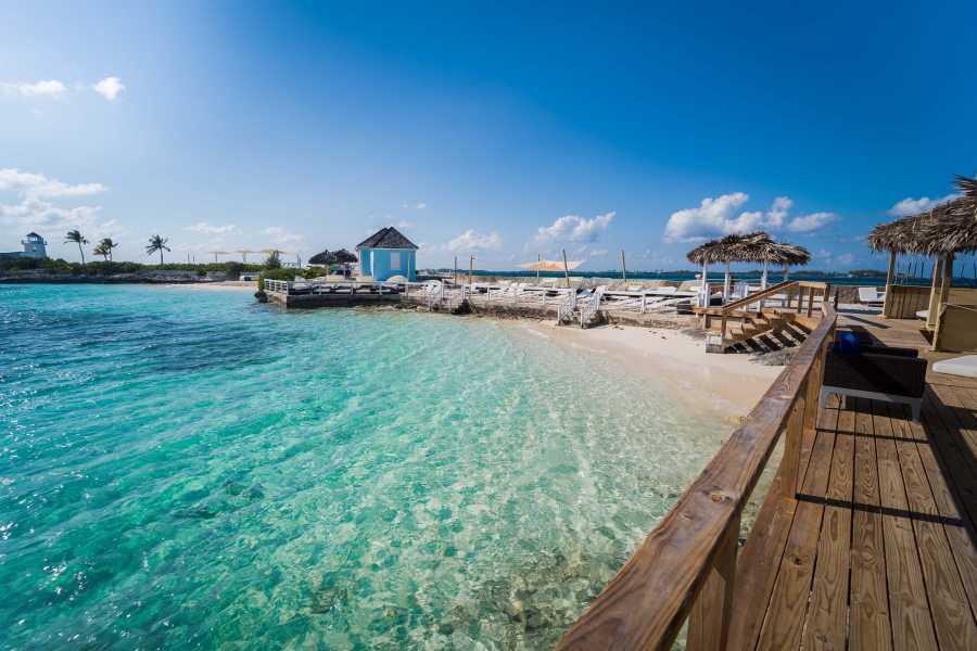 Pearl Island Bahamas Private Ocean View Cabana