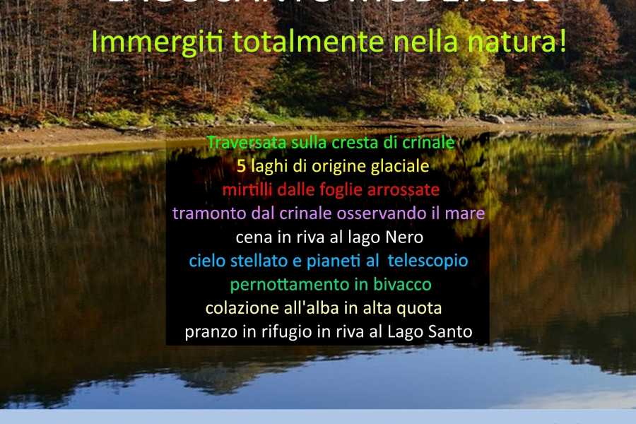 Modenatur Weekend dai colori d'autunno tra crinali, laghi e mirtilli infuocati