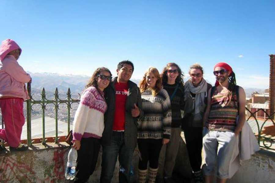 Red Cap Extended La Paz Adventure and Cable Car Tour!