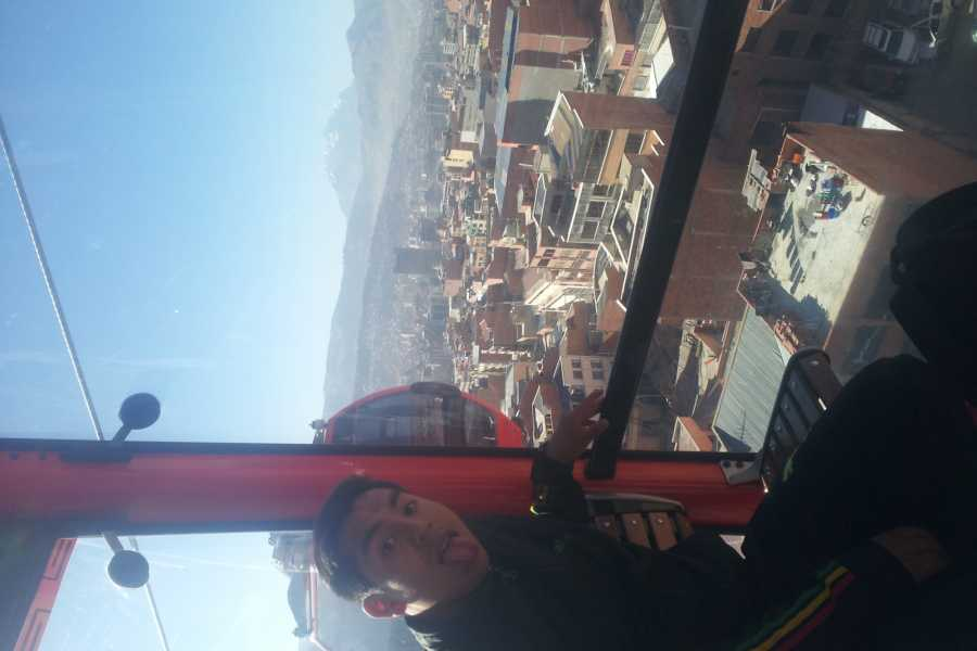 Red Cap Extended La Paz Adventure and Cable Car City Tour!