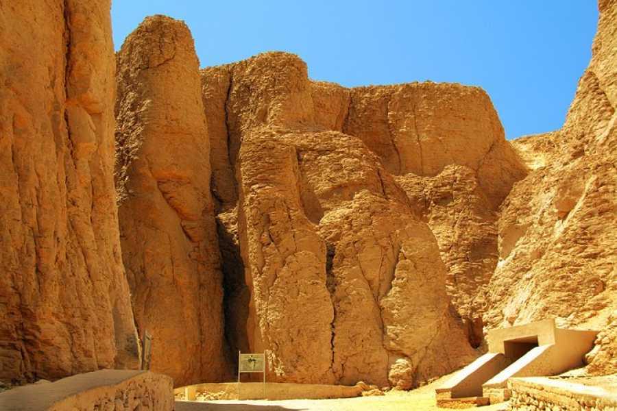 Excursies Egypte Luxor: visite de deux jours depuis Port Ghalib en montgolfière