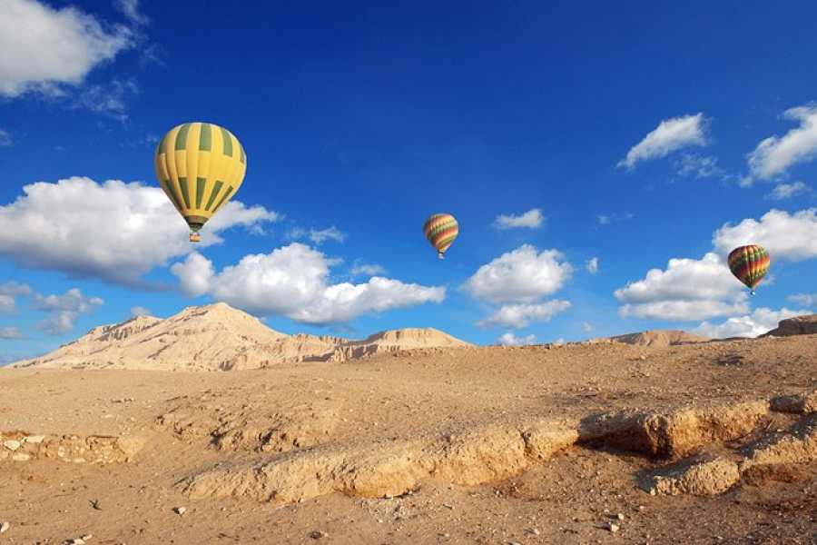 Excursies Egypte Luxor two days tour from Port Ghalib with hotair balloon