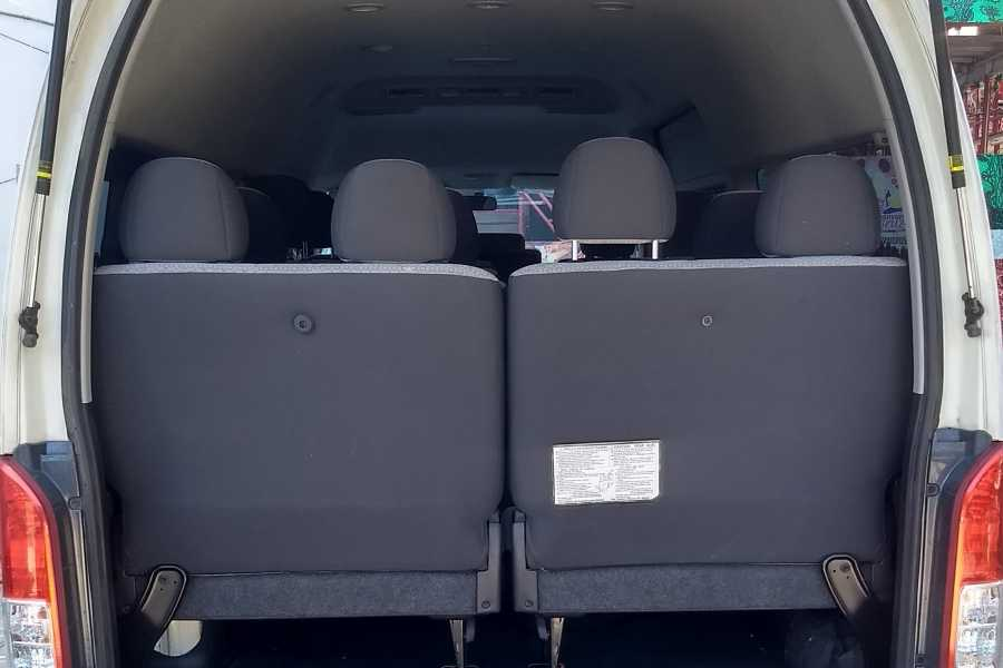 Tours y Tickets Operador Turístico Renta de camioneta Hiace