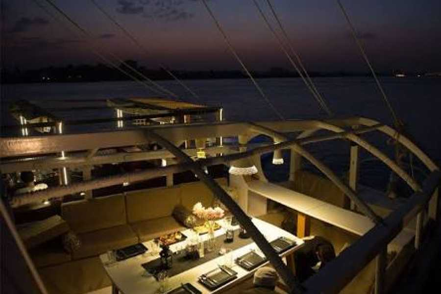 EMO TOURS EGYPT Cairo Cafelluca Nile Sailing Boat Trip available for Breakfast,Lunch and Dinner including transfers