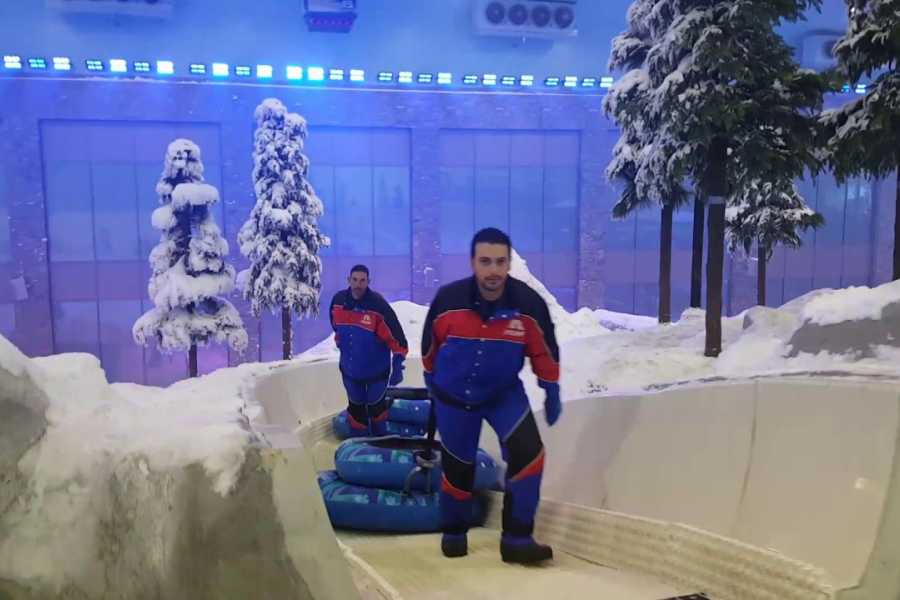 Excursies Egypte Visite privée chez Polar Express Ski Egypt