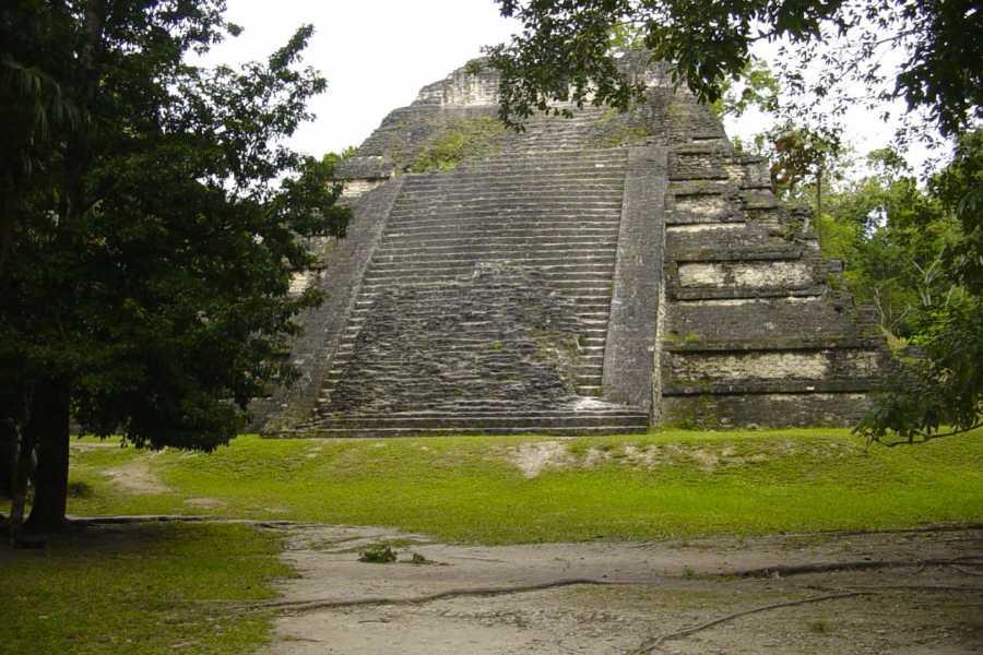 Gem Trips 03:20 Tikal Tour de Amanecer en grupo pequeño desde Casa Hunahpú