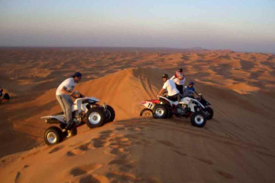 Excursies Egypte EXCURSION EN QUAD VÉLO POUR LE SAFARI DU MATIN DU DÉSERT DU GOUNA