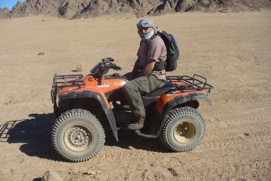 Excursies Egypte Makadi Desert Sunset Safari Trip By Quad Bike