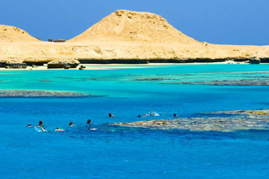 Excursies Egypte L'île de Giftun offre des excursions de plongée en apnée à partir de Makadi