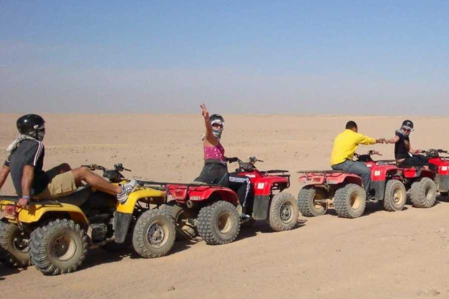 Excursies Egypte Afternoon quad bike Safari trip from Soma bay