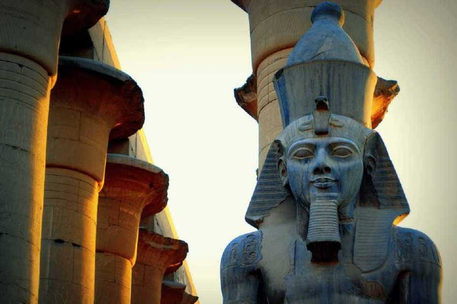 Excursies Egypte Luxor two days tour from Sahel Hashish with hotair balloon