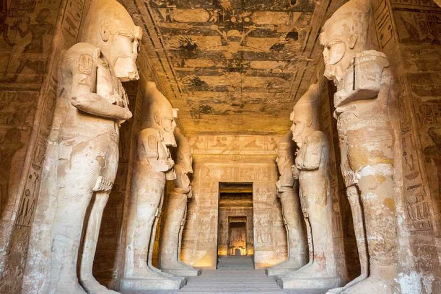 Excursies Egypte Cairo Aswan and Abu Simbel two days tour from Sahel Hashish