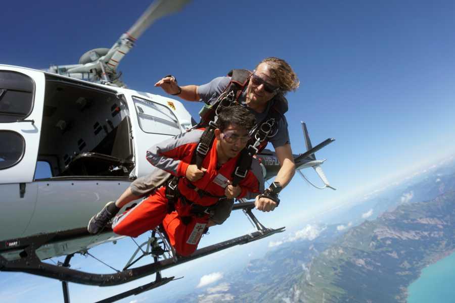 Interlaken Activities Helicopter Skydive Interlaken