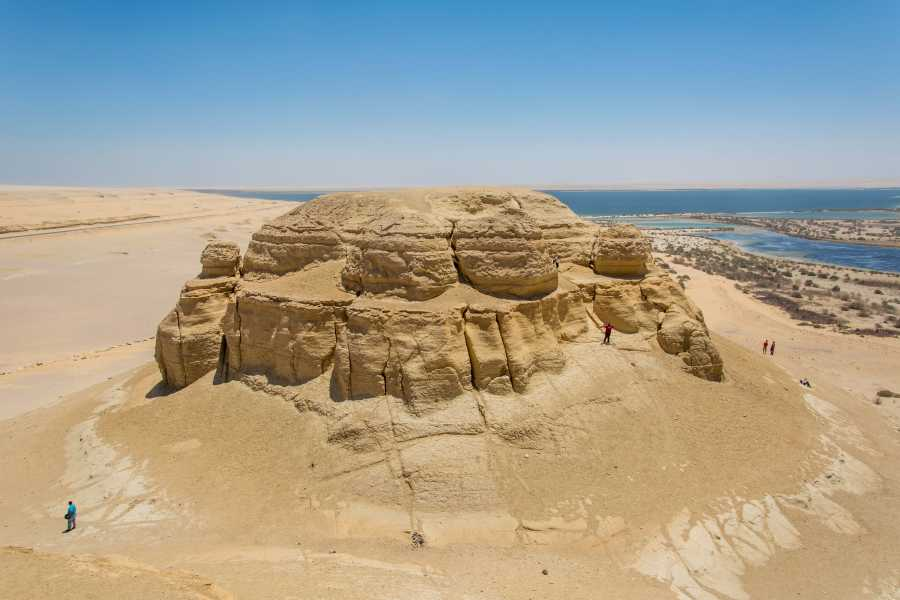 Deluxe Travel Day trip to Fayoum and Wadi Hitan (Valley of Whales)