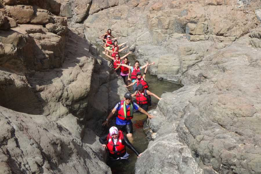 "Adventurati Outdoor ""Escape to the Wadi"" with Connect With Nature"