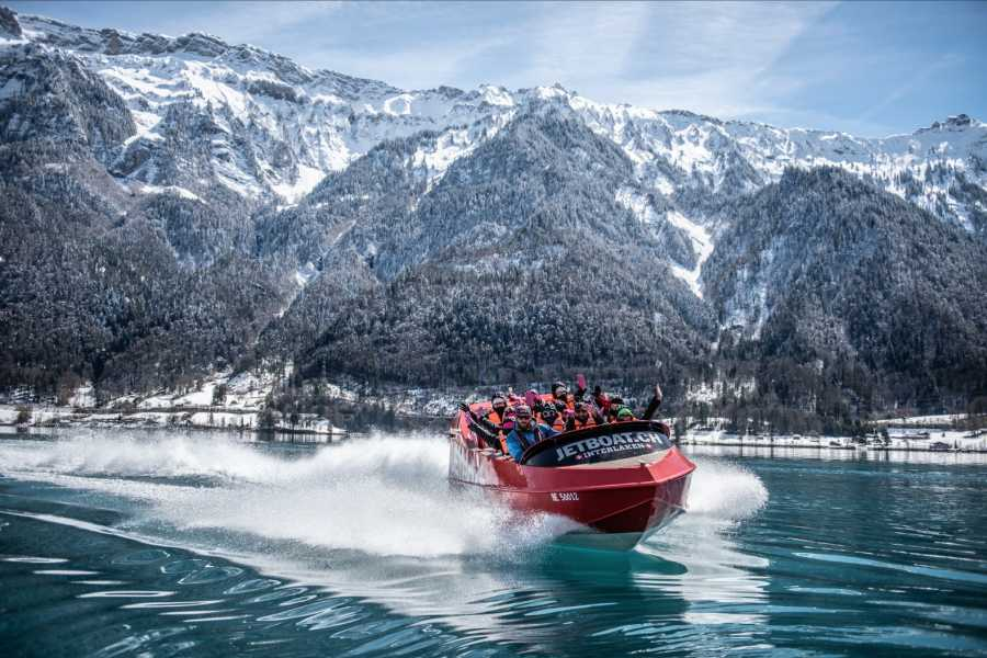 JETBOAT Interlaken Jetboat Winter Ride