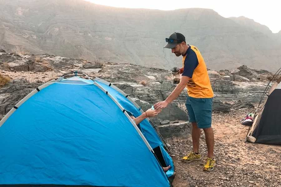 Adventurati Outdoor Backpacking Balcony Hike to Al Sel Old Settlment - UAE