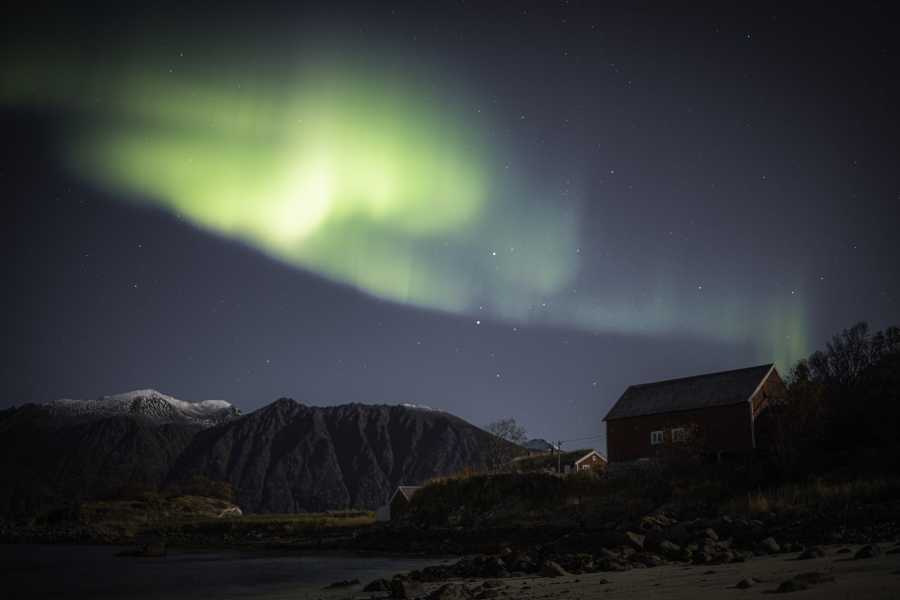 ArctiConcepts AS Aurora beach camp på Elgsnes