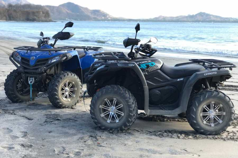 Tour Guanacaste Bonfire Sunset ATV beach tour