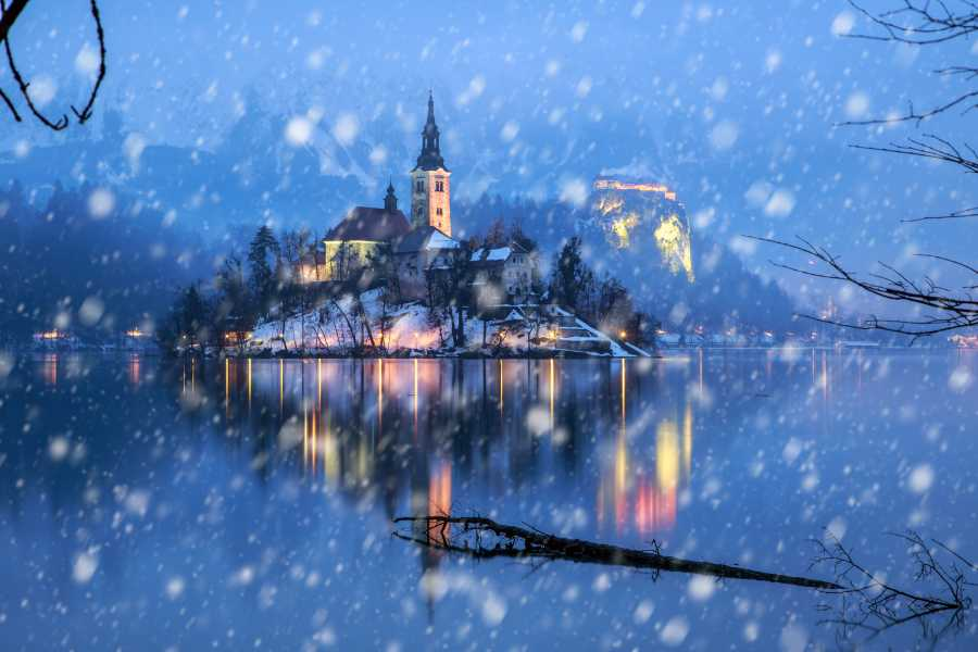 ToDoInSlovenia, brand of Kompas d.d. Winter Fairytale in Kranjska Gora and Lake Bled