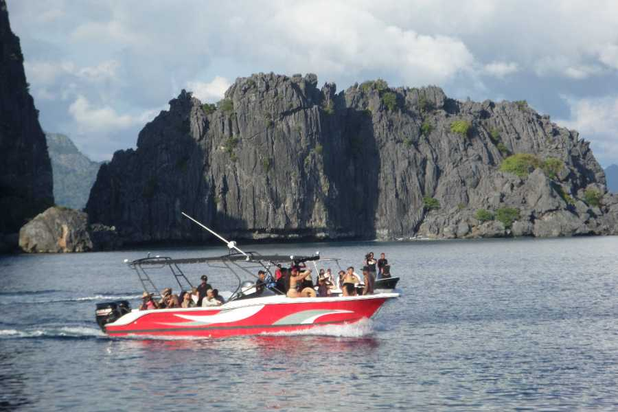 Philippine Island Cruise Corp Full Day Highlights of El Nido Speedboat SEATAXI Island Group Tour C