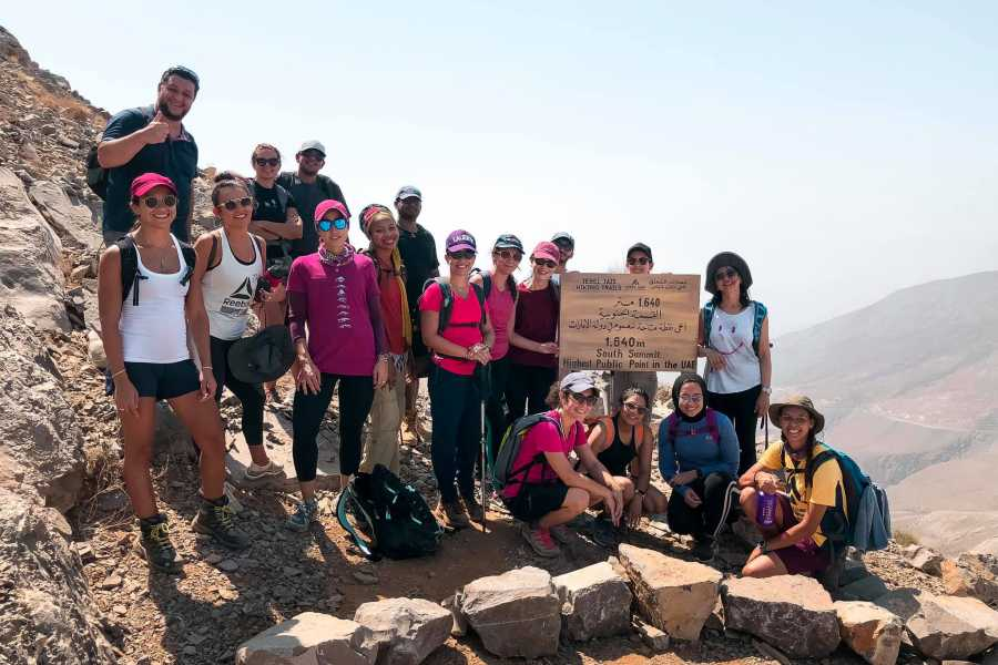 Adventurati Outdoor Ridge Summit Hike- Highest Public Point in UAE