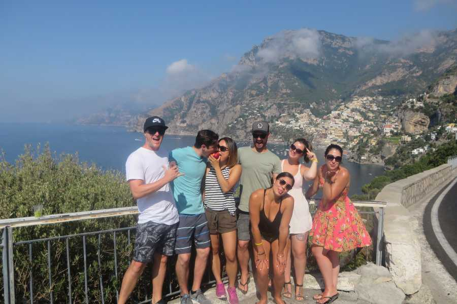 Italy on a Budget tours POMPEII & AMALFI COAST DAY TOUR