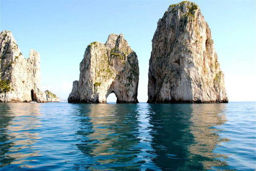 Di Nocera Service Discover Capri Island in a Semi-private boat from Sorrento