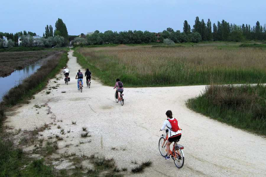 Emilia Romagna Welcome Bike Fishing with Wine Tasting in the Night