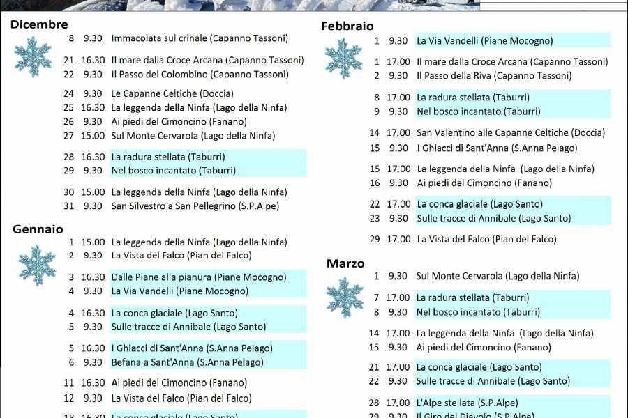 Modenatur Ciaspolata a Capanno Tassoni Un rifugio fuori dal tempo.