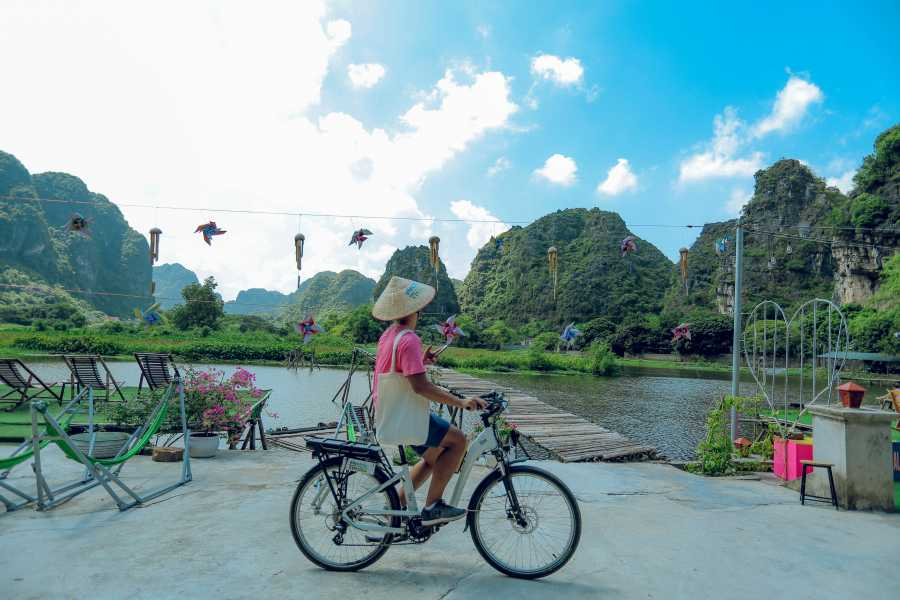 Friends Travel Vietnam Ninh Binh Day Tour with Electric Bike | Small Group ( Start from Hanoi)