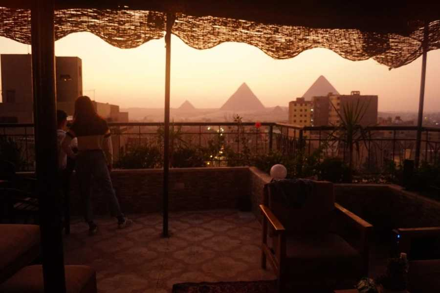 EMO TOURS EGYPT Draz Pyramids View Inn Cheap Hostel includes Bed & Breakfast