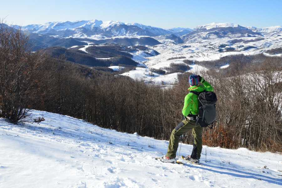 Green Visions Via Dinarica Snowshoeing Week