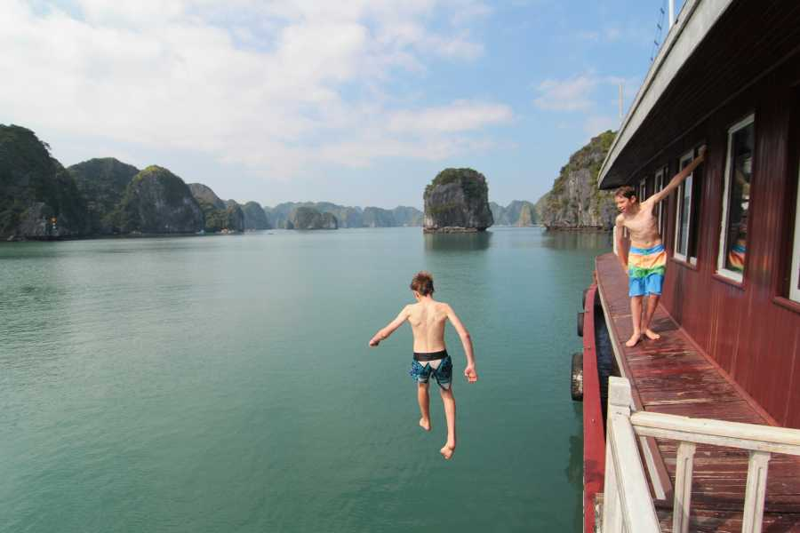 Friends Travel Vietnam The Cat Ba -Lan Ha Bay Private Cruise Experience 3D2N - Depart & End in Cat Ba