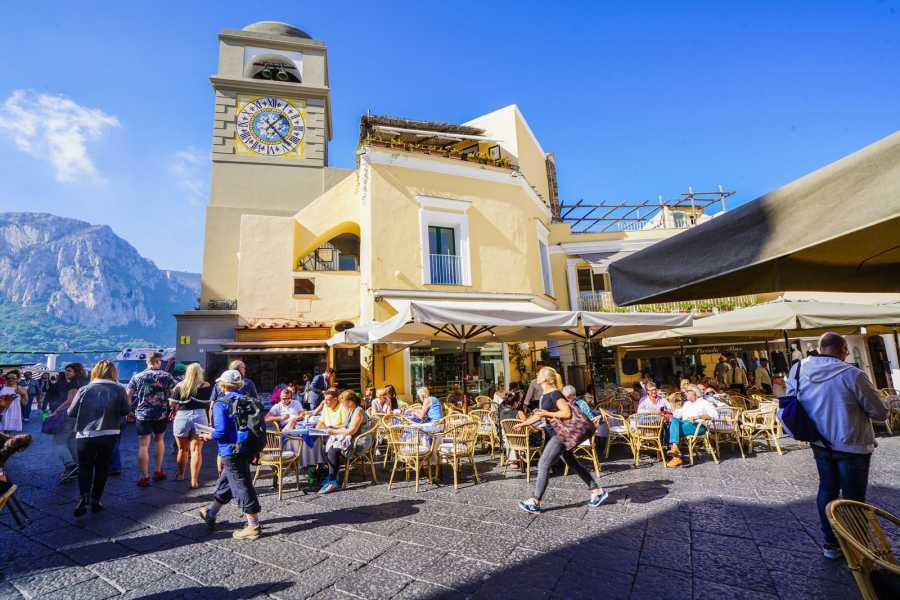Travel etc Private Capri and Anacapri Guided Tour from Sorrento