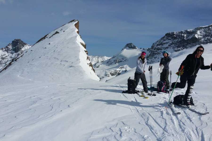 Saas-Fee Guides Ski- Splitboardtour Grundkurs