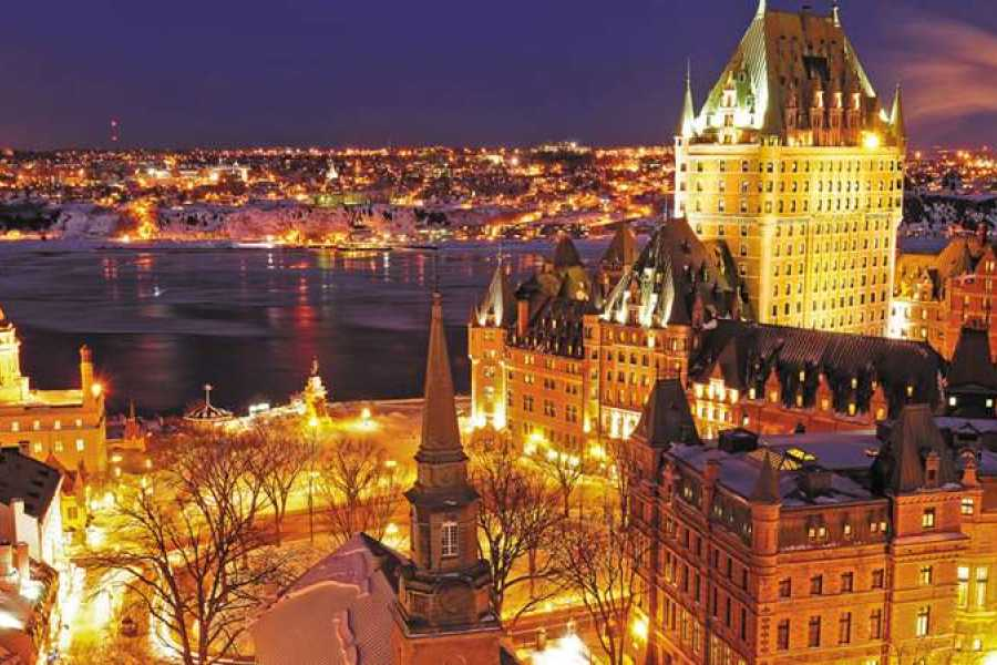 Dream Vacation Tours OLD QUEBEC SPA, DISTILLERY & SHOPPING TOUR from NS, NB