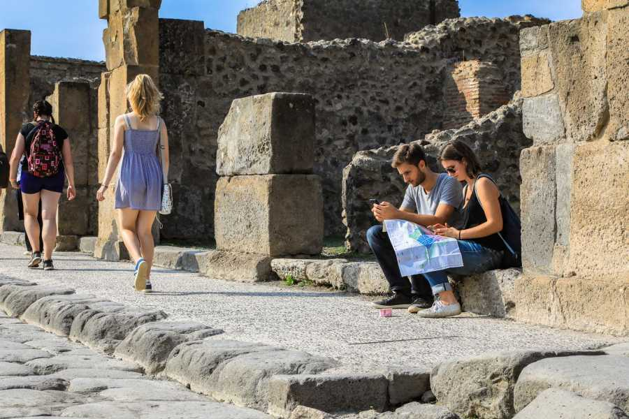 Travel etc Private Zugtour von Sorrent mit Pompeji Ruins Guide und Skip-the-Line-Ticket