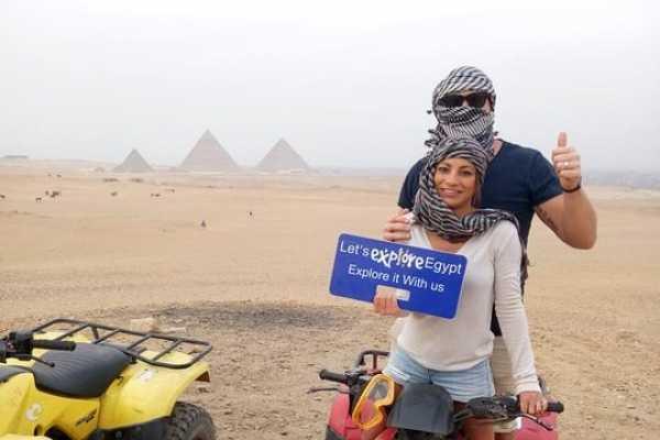 2 Days Discovering Giza Pyramids and super safari around Pyramids