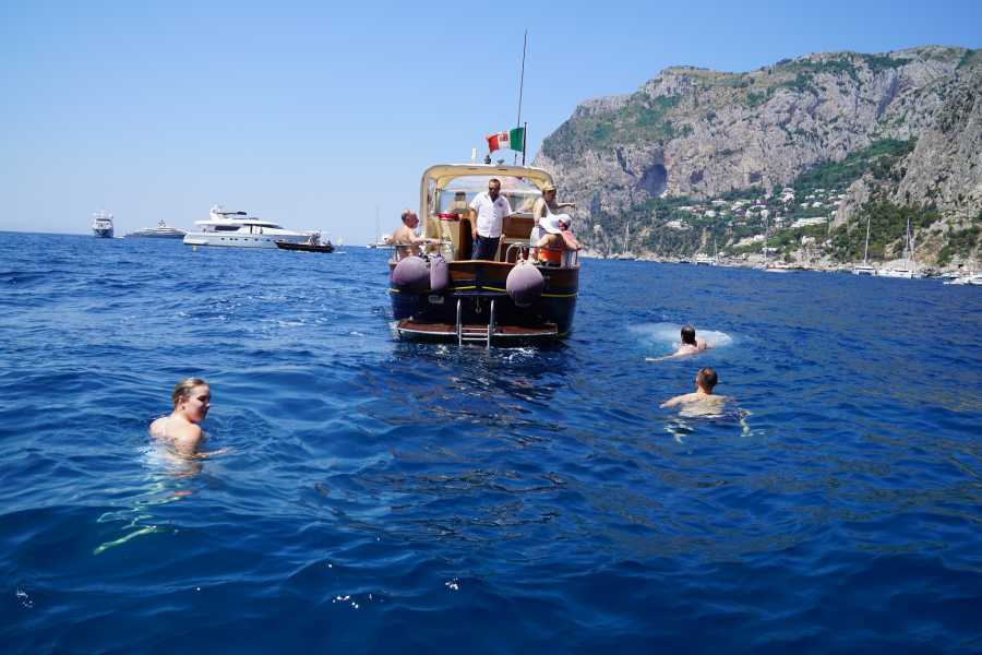 Travel etc Capri Swim & Blue Grotto